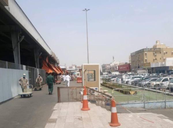 أمانة جدة تغلق حراج الخضار المركزي احترازيًا وتلزم المستثمر بالتنظيم