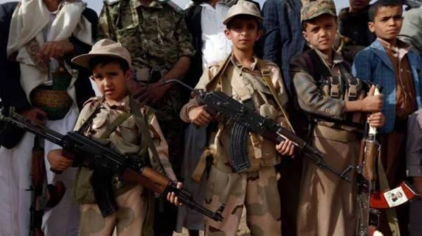 الحكومة اليمنية تتهم الحوثي بإبادة الأطفال عبر تجنيدهم