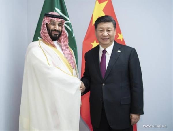 في اتصال مع الرئيس الصيني .. ولي العهد : المملكة تعمل على تنظيم قمة سنوية لمبادرة الشرق الأوسط الأخضر