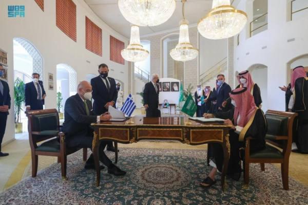 المملكة توقع اتفاقية مع اليونان لتعزيز القدرات الدفاعية