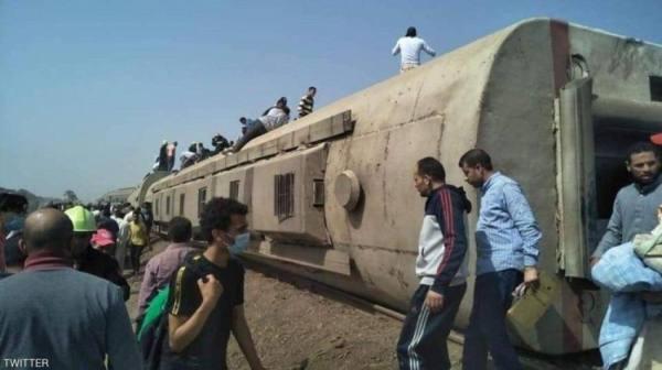 ارتفاع عدد قتلى حادث قطار مصر إلى 23