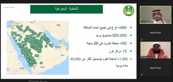 البريد السعودي يستعرض فرصه الاستثمارية أمام قطاع الأعمال
