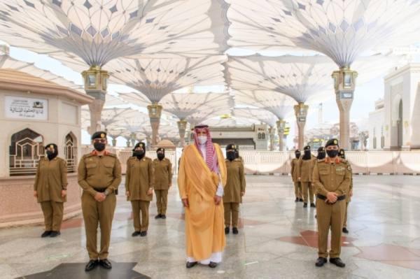 أمير المدينة يوجه بمُضاعفة الجهود استعداداً للعشر الأواخر من رمضان