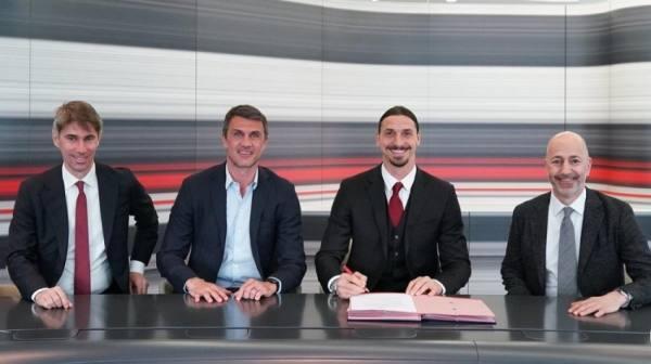 رسميا.. ميلان يجدد عقد إبراهيموفيتش لموسم واحد