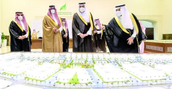 أمير المدينة المنورة يدشن عدد من المشروعات بمدينة المعرفة الاقتصادية