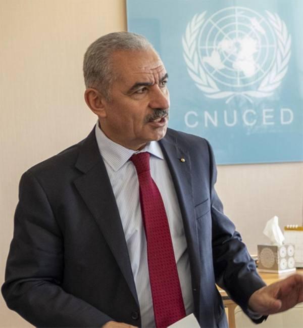 رئيس الوزراء الفلسطيني يشكر مركز الملك سلمان للإغاثة