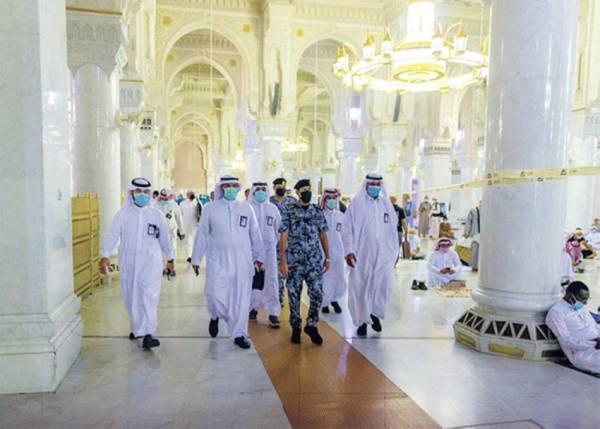 فتح الدور الأول وسطح توسعة الملك فهد لزيادة طاقة الحرم