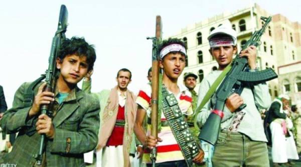 مقتل 1400 طفل في جبهات الحوثي خلال عام