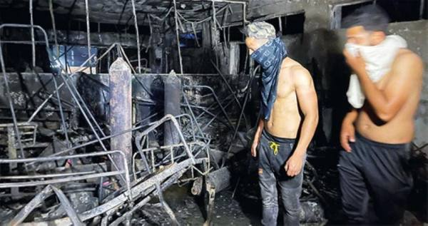 بغداد : وقف وزير الصحة والمحافظ وإحالتهما للتحقيق