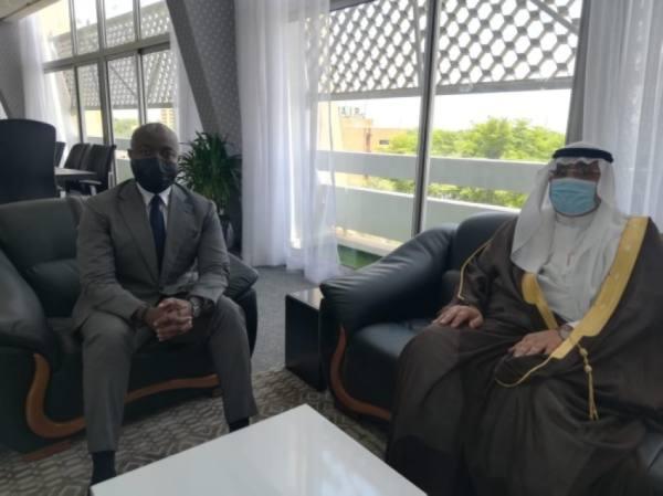 السفير العلي يبحث مع وزير البترول النيجري أوجه التعاون