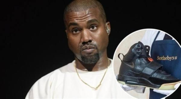بيع حذاء الموسيقي «كاني ويست» بمليون دولار