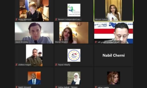 نشطاء حقوقيون يحملون الحوثيين وإيران مسؤولية إفشال مبادرة المملكة لإنهاء الحرب