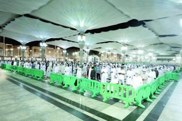 اكتمال خطة العشر الأواخر بالمسجد النبوي