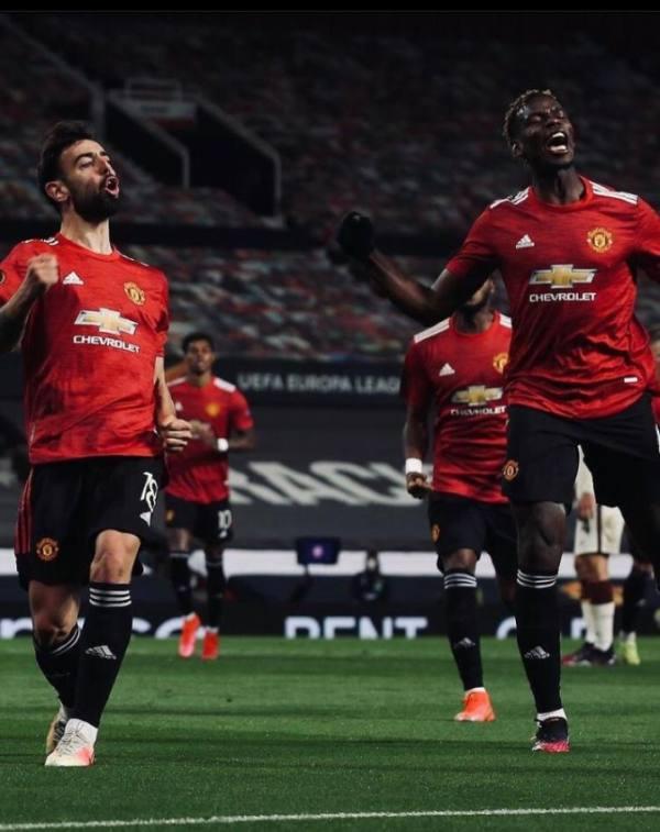 مانشستر يونايتد يكتسح روما في الدوري الأوروبي