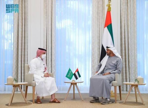 وزير الخارجية يبحث مع محمد بن زايد العلاقات والمستجدات