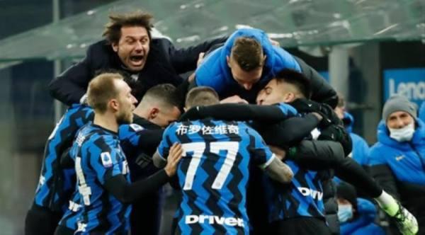 إنتر ميلان ينهي هيمنة يوفنتوس ويتوج بلقب الدوري الإيطالي