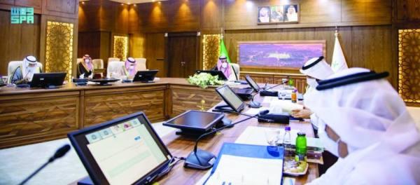 أمير المدينة يترأس مجلس أمناء مجمع الملك عبدالعزيز للمكتبات الوقفية