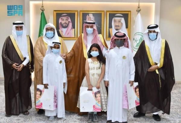 أمير نجران يدشن فعاليات اليوم العربي لليتيم