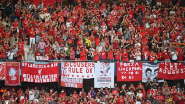 عودة جماهير الدوري الإنجليزي وليفربول يبيع تذاكر مباراته الأخيرة
