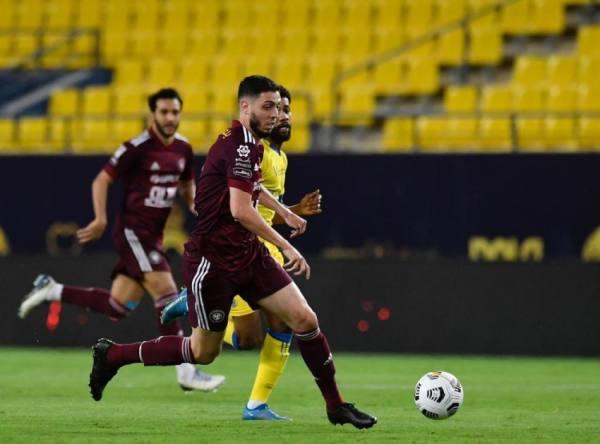 النصر يكسب الفيصلي في مباراة الأهداف السبعة