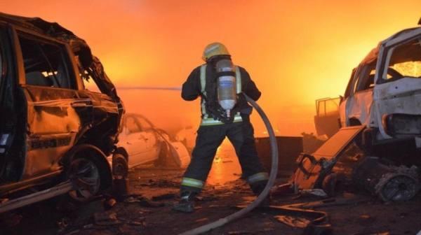 مصرع (8) فلسطينيين بحريق في جدة