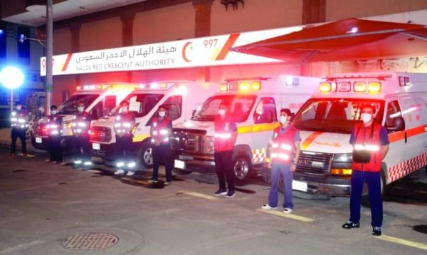 500 متطوع  يشاركون في 25 مركزا إسعافيا بالحرم