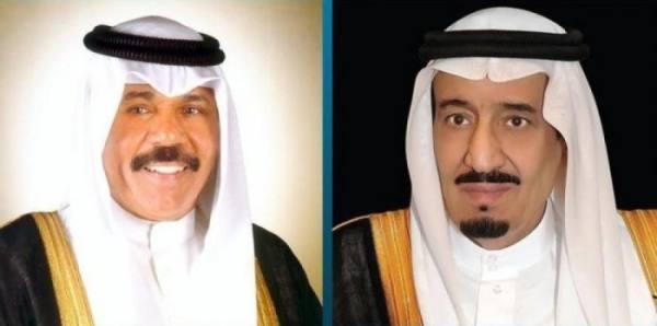 خادم الحرمين يتلقى اتصالاً هاتفياً من أمير الكويت