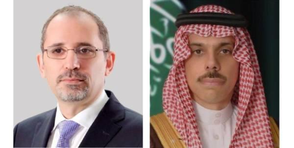 تنسيق بين المملكة والأردن حول القضية الفلسطينية