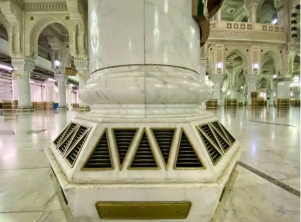 3 مراحل لتنقية الهواء بالمسجد الحرام و144 ألف طن لـ