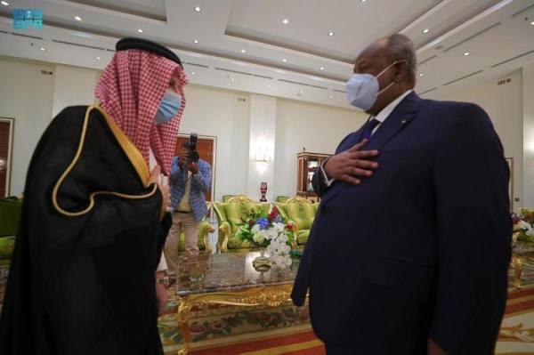 وزير الدولة لشؤون الدول الإفريقية يشارك في مراسم تنصيب رئيس جمهورية جيبوتي