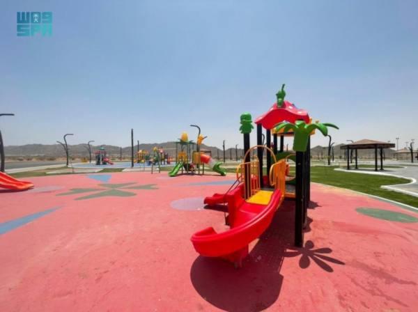أمانة نجران تنجز مشروع حديقة الملك عبدالعزيز بتكلفة 4.9 مليون ريال