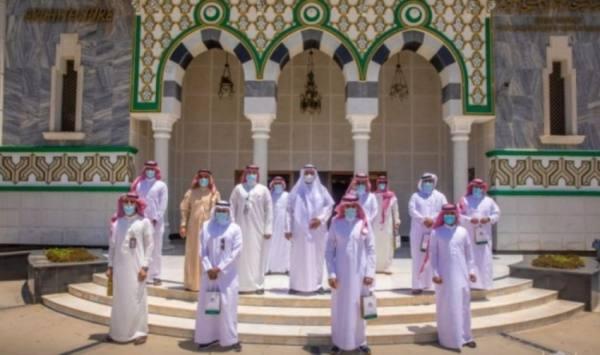 وكالة مجمع كسوة الكعبة يقيم فعالية مناسبة اليوم العالمي للمتاحف