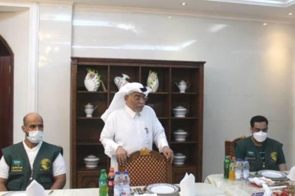 سفير خادم الحرمين بالخرطوم يستقبل فريق
