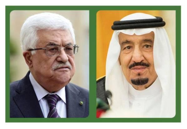 خادم الحرمين للرئيس الفلسطيني: سنواصل جهودنا لوقف الاعتداءات الإسرائيلية على القدس