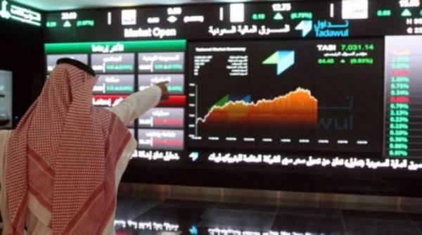 مؤشر الأسهم السعودية يغلق مرتفعاً عند 10343.86 نقطة
