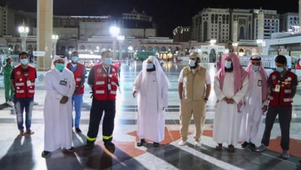 السديس يثمن جهود الهلال الأحمر السعودي بالمسجد الحرام خلال شهر رمضان