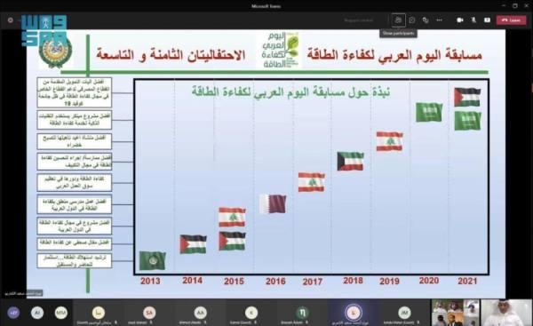 مبادرة المركز السعودي لكفاءة الطاقة تحصد المركز الأول عربياً