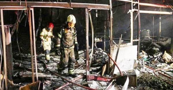 9 جرحى في انفجار بمصنع لمواد متفجرة وسط إيران
