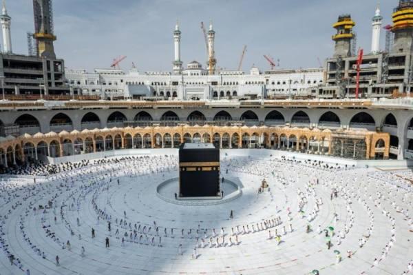 فتح أبواب جديدة بعد إغلاق باب الملك عبدالعزيز بالحرم