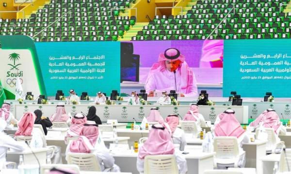 تزكية الأمير عبدالعزيز بن تركي الفيصل رئيساً للجنة الأولمبية