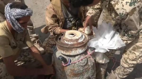 التحالف: اكتشاف وتدمير لغم زرعه الحوثيون بالبحر الأحمر
