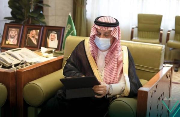 أمير الرياض يدشن عيادة