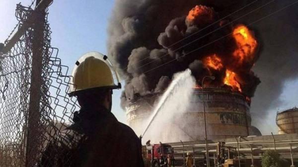 انفجار ضخم في شركة بتروكمياويات إيرانية بإقليم بوشهر