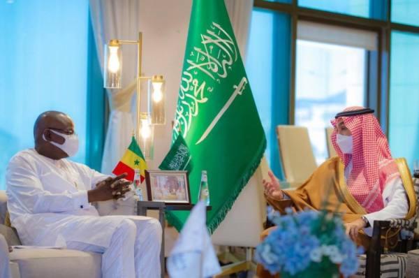 عبدالعزيز الفيصل يستقبل وزير الرياضة السنغالي