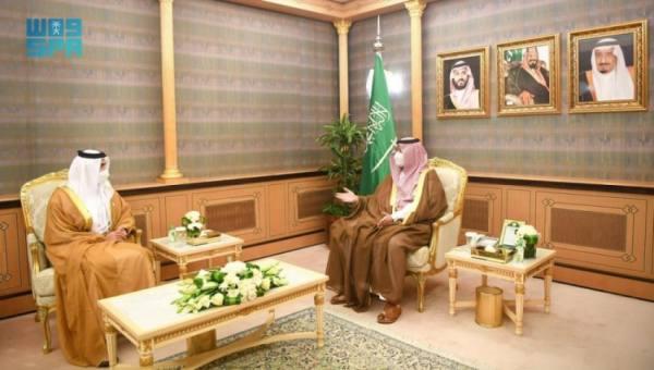 الأمير تركي بن محمد بن فهد يستقبل سفير الإمارات لدى المملكة