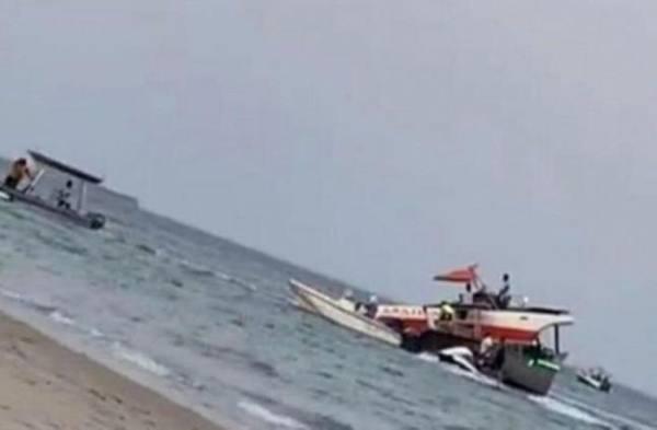 حادث تصادم بحري بين قاربين مقابل شاطئ الفناتير ينتج عنه وفاة مقيمة