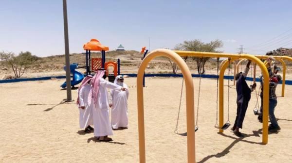 صيانة منتزه سيسد الوطني استعدادا لموسم الصيف