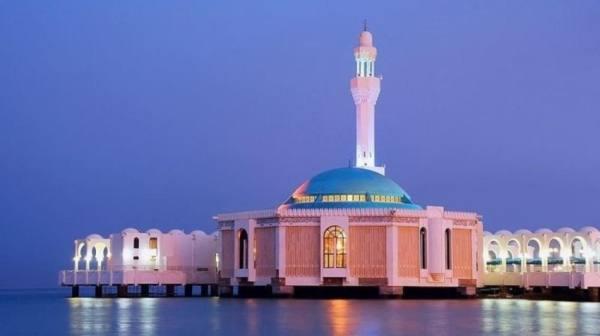المسجد العائم بجدة.. سياحة وتأمل
