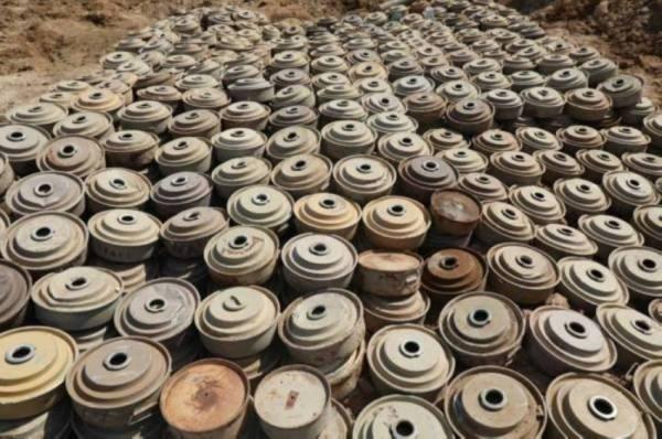 مشروع مركز الملك سلمان للإغاثة  ينتزع 2.183 لغماً في اليمن خلال أسبوع