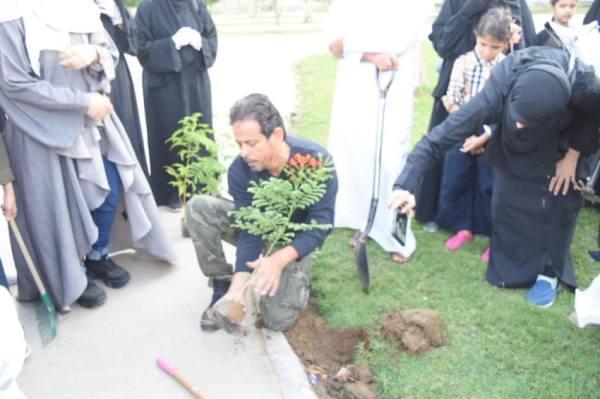 الجهني: التوسع بالتدوير واستغلال المياه الجوفية لتنفيذ «السعودية الخضراء «